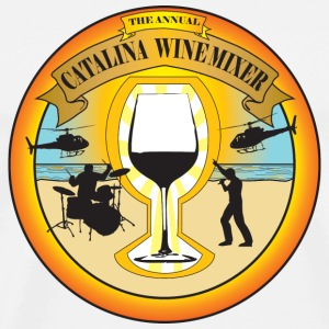 Catalina Wine Mixer T-Shirts - Men's Premium T-Shirt