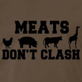 Design ~ Meats Don't Clash T-Shirt (Men's)