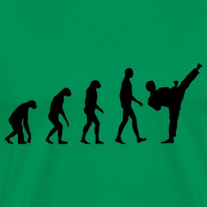 Evolution Material Arts T-Shirts - Men's Premium T-Shirt