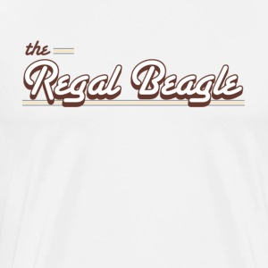 Natural Regal Beagle T-Shirts - Men's Premium T-Shirt