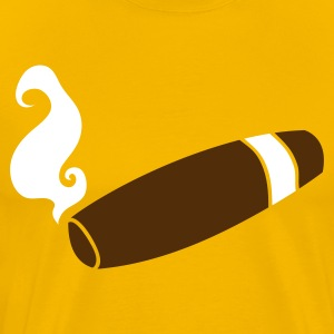 cigar for new baby T-Shirts - Men's Premium T-Shirt
