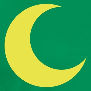 crescent moon shape T-Shirts - Men's Premium T-Shirt