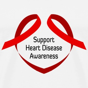 Heart Disease Awareness - Men's Premium T-Shirt