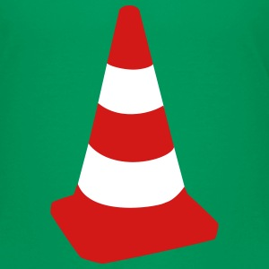 Kelly green Traffic cone Kids' Shirts - Kids' Premium T-Shirt