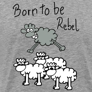 jumping sheep T-Shirts - Men's Premium T-Shirt