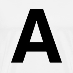 helvetica letter A T-Shirts
