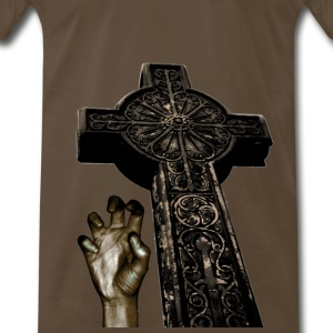 Brown Zombies T-Shirts - Men's Premium T-Shirt