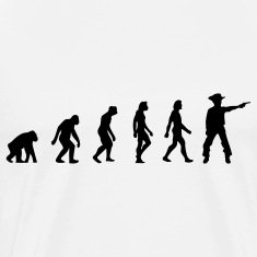 Cowboy Evolution (1c) T-Shirts