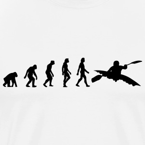 Kayaking Evolution (1c) T-Shirts - Men's Premium T-Shirt