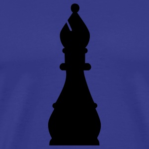 Chess Bishop T-Shirts - Men's Premium T-Shirt