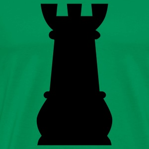 Chess Rook T-Shirts - Men's Premium T-Shirt