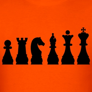 Evolution Chess T-Shirts - Men's T-Shirt