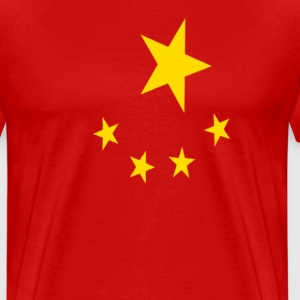 China Flag Shirt - Men's Premium T-Shirt