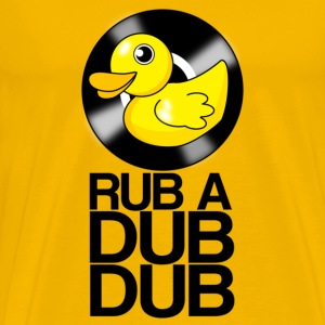RUB A DUB DUB Vinyl Duck - Men's Premium T-Shirt
