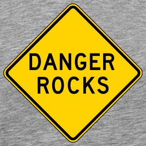 Danger Rocks - Men's Premium T-Shirt