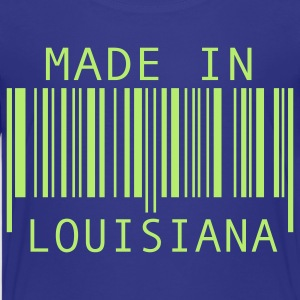 Turquoise Made in Louisiana Kids' Shirts - Kids' Premium T-Shirt