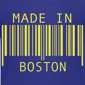 Turquoise Made in Boston Kids' Shirts - Kids' Premium T-Shirt