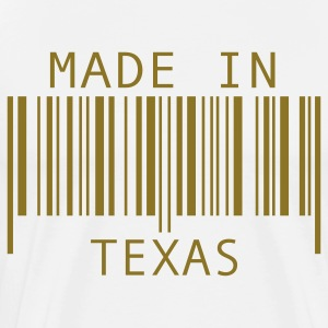 White Made in Texas T-Shirts - Men's Premium T-Shirt