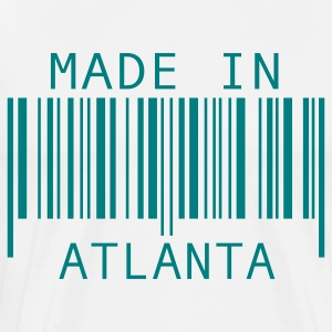 White Made in Atlanta T-Shirts - Men's Premium T-Shirt