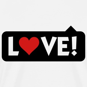 Love 4 (2c) T-Shirts - Men's Premium T-Shirt