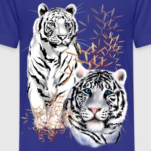 White Tigers  - Kids' Premium T-Shirt