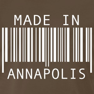Brown Made in Annapolis T-Shirts - Men's Premium T-Shirt