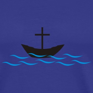 Royal blue Water T-Shirts - Men's Premium T-Shirt