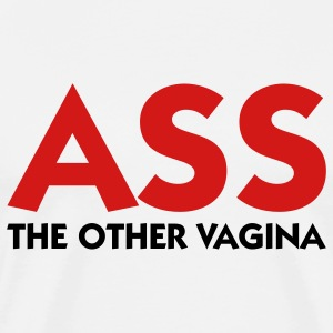 Ass - The Other Vagina (2c) T-Shirts - Men's Premium T-Shirt