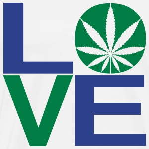 Weed Love - Men's Premium T-Shirt