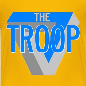 Yellow The Troop Nick TV Kids' Shirts - Kids' Premium T-Shirt