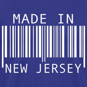 Royal blue Made in New Jersey T-Shirts - Men's Premium T-Shirt