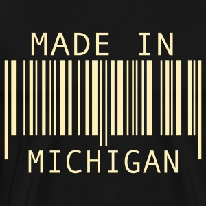 Black Made in Michigan T-Shirts - Men's Premium T-Shirt