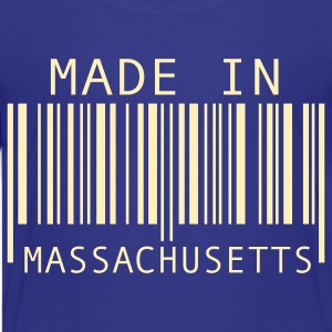 Turquoise Made in Massachusetts Kids' Shirts - Kids' Premium T-Shirt