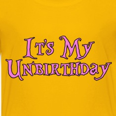 It's My Unbirthday Kids' Shirts