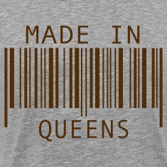 Heather grey Made in Queens T-Shirts