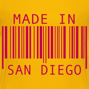 Yellow Made in San Diego Kids' Shirts - Kids' Premium T-Shirt