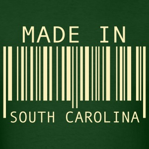 Forest green Made in South Carolina T-Shirts - Men's T-Shirt