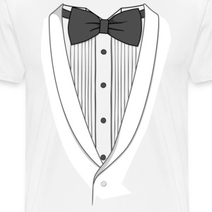 Fake Dinner Jacket T-shirt - Men's Premium T-Shirt