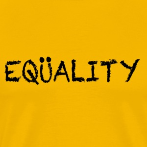Yellow EQUALITY Marriage T-Shirts - Men's Premium T-Shirt