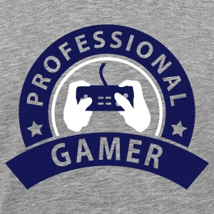 prof_gamer_1 T-Shirts - Men's Premium T-Shirt