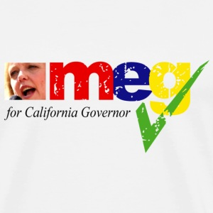 Meg Whitman for Governor - Men's Premium T-Shirt