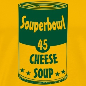 Men's t-shirt Souperbowl 45 Cheese Soup | Digimani - Men's Premium T-Shirt