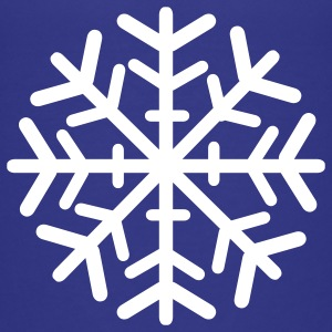 Royal blue Snowflake Kids' Shirts - Kids' Premium T-Shirt