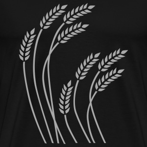 Wavy Wheat - Men's Premium T-Shirt