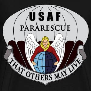 Black Pararescue T-Shirts - Men's Premium T-Shirt