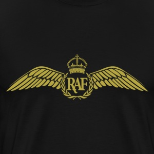 RAF Pilot Wings 2 - Men's Premium T-Shirt