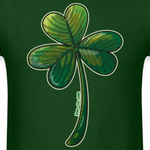Saint Paddy's Day Clover T-Shirts - Men's T-Shirt