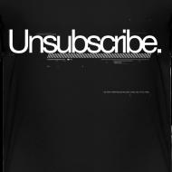 Design ~ Unsubscribe (toddler t-shirt)