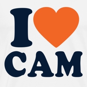 I Love Cam T-Shirts - Men's Premium T-Shirt