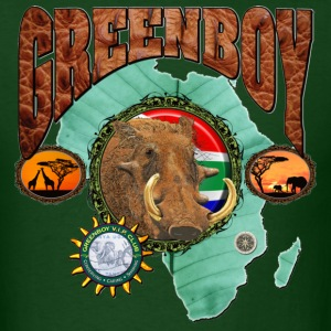 Forest green African Warthog T-Shirts - Men's T-Shirt